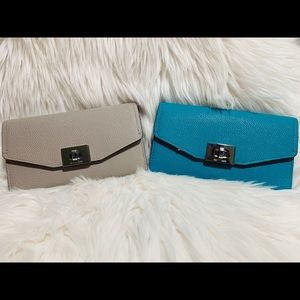 NWT MICHAEL KORS LARGE CASSIE TRIFOLD WALLET